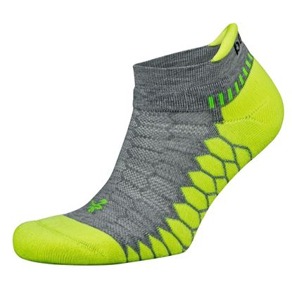 Picture of Silver Antimicrobial NoShow Compression Fit Running Socks